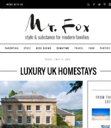 Luxury UK Home Stays