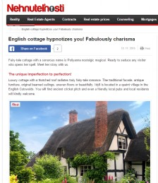 This Fabulous Charismatic English Cottage Will Captivate You