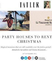 Six Party Houses to Rent For Christmas