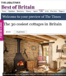 The 30 cosiest cottages in Britain