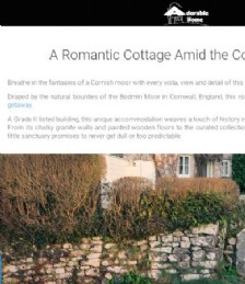 A Romantic Cottage Amid The Cornish Moors