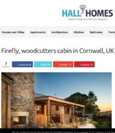 Firefly; Woodcutters Cabin in Cornwall, UK