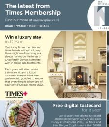 Win a Luxury Stay in Devon