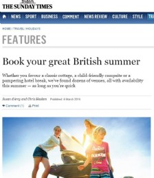 Book Your Great British Summer