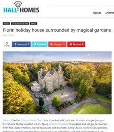 Florin Holiday House Surrounded By Magical Gardens