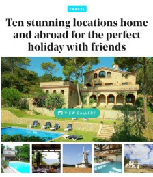 Ten Stunning Locations Home and Abroad