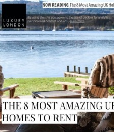 The 8 Most Amazing UK Holiday Homes To Rent