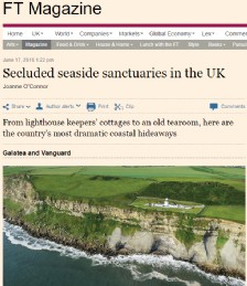 Secluded Seaside Sanctuaries UK