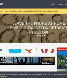 Leave the Phone at Home: Five Digital Detox Retreats in Europe