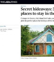 Secret hideaways: 30 wild places to stay in the UK