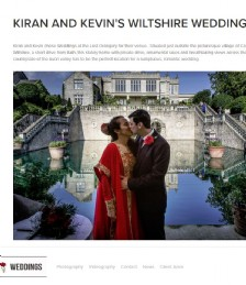 Kiran And Kevin´s Wiltshire Wedding
