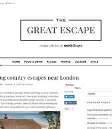 Enchanting Country Escapes Near London