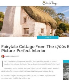 Fairytale Cottage from the 1700s Boasts a Picture-Perfect Interior