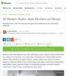 10 Modern Rustic-style Kitchens on Houzz