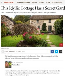 This Idyllic Cottage has a Secret Garden