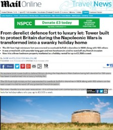 From Derelict Defence Fort to Luxury Let