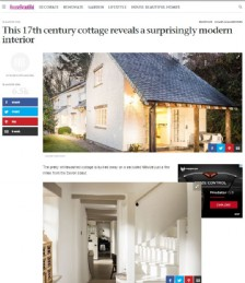 This 17th Century Cottage Reveals a Surprisingly Modern Interior
