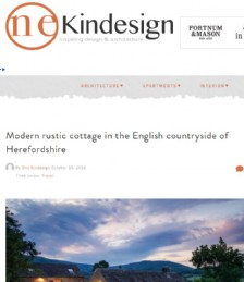 Modern Rustic Cottage in the English Countryside of Herefordshire