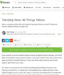 Trending Now: All Things Yellow