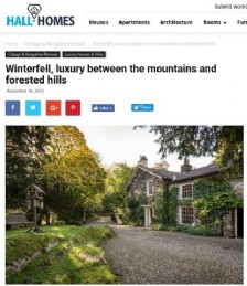 Winterfell, Luxury Between The Mountains and Forested Hills