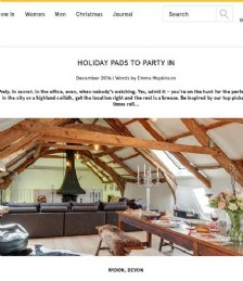 Holiday Pads To Party In