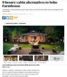 9 Luxury Cabin Alternatives to Soho Farmhouse