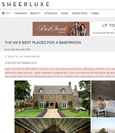 The UK´s Best Places for a Babymoon