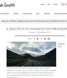 A Selection Of Highland Winter Hideaways