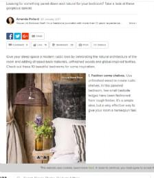 10 Enchanting Modern-Rustic Bedrooms