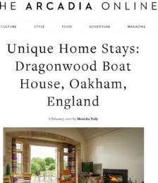 Unique Home Stays: Dragonwood Boat House, Oakham, England