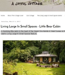 Living Large in Small Spaces - Little Bear Cabin
