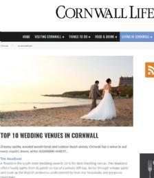 Top 10 Wedding Venues in Cornwall