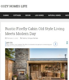 Rustic Firefly Cabin Old Style Living Meets Modern Day