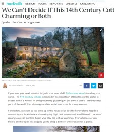 We Can´t Decide if This 14th Century Cottage is Magical, Charming or Both