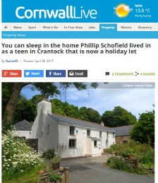 Sleep in the Home Phillip Schofield Lived in as a Teen