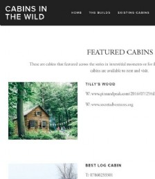 Featured Cabins