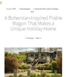 A Bohemian-Inspired Prairie Wagon