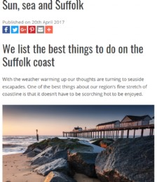 The Best Things to do on the Suffolk Coast