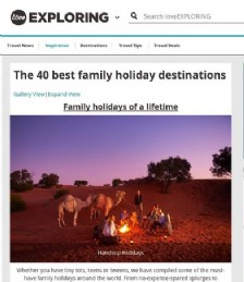 The 40 Best Family Holiday Destinations