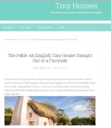 The Fable: an English Tiny House Straight Out of a Fairytale
