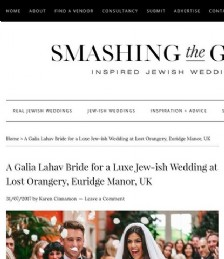 A Galia Lahav Bride for a Luxe Jew-ish Wedding at the Lost Orangery, Euridge Manor