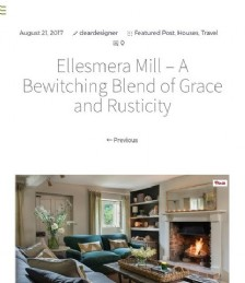 Ellesmera Mill – A Bewitching Blend of Grace and Rusticity