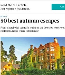 50 Best Autumn Escapes