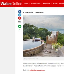 19 brilliant places to stay with hot tubs in Wales
