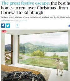 The Great Festive Escape: The Best Holiday Homes to Rent this Christmas