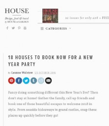 18 Houses to Book Now for a New Year Party