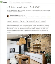 Is This the New Exposed Brick Wall?