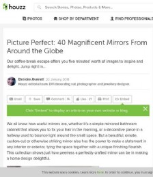 Picture Perfect: 40 Magnificent Mirrors From Around the Globe