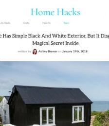 Cottage has a simple exterior, but it disguises a magical secret inside