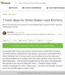 7 Fresh Ideas for White Shaker-style Kitchens